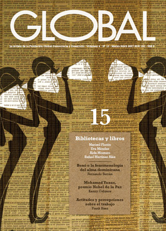 Portada de la revista Global No. 15
