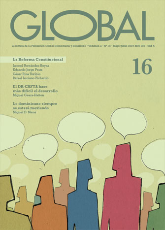 Portada de la revista Global No. 16