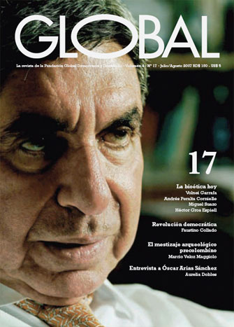 Portada de la revista Global No. 17