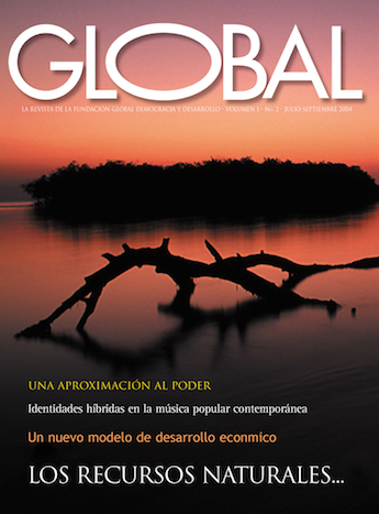 Portada de la revista Global No. 2