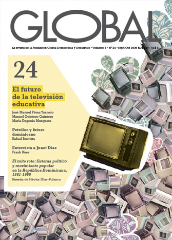 Portada de la revista Global No. 24