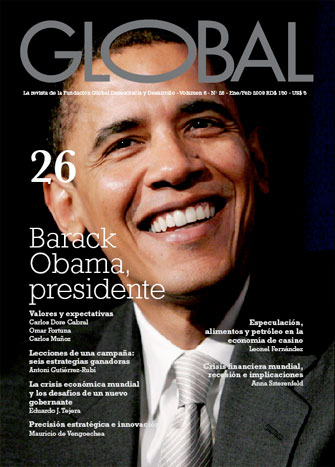 Portada de la revista Global No. 26