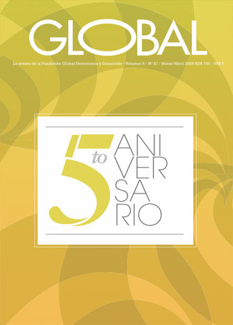 Portada de la revista Global No. 27