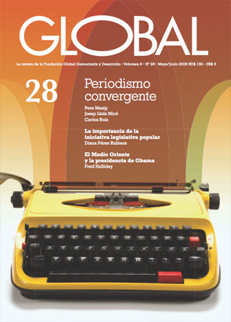 Portada de la revista Global No. 28