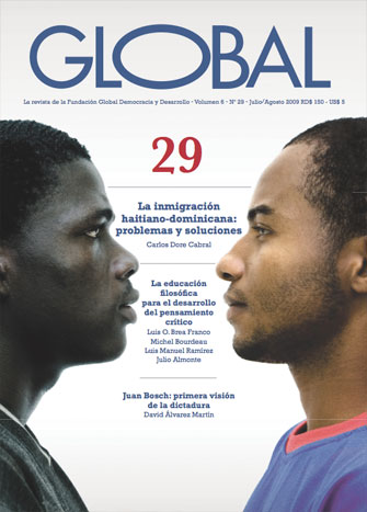 Portada de la revista Global No. 29