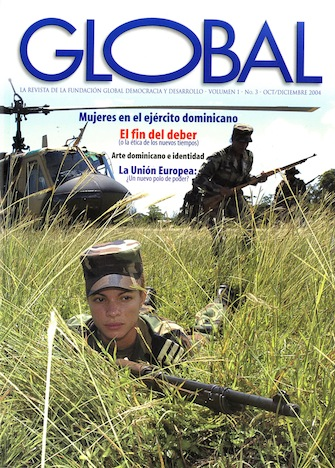 Portada de la revista Global No. 3