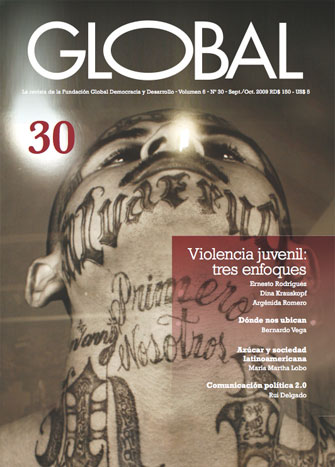 Portada de la revista Global No. 30