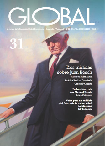 Portada de la revista Global No. 31