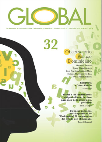 Portada de la revista Global No. 42