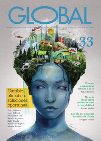 Portada de la revista Global No. 33