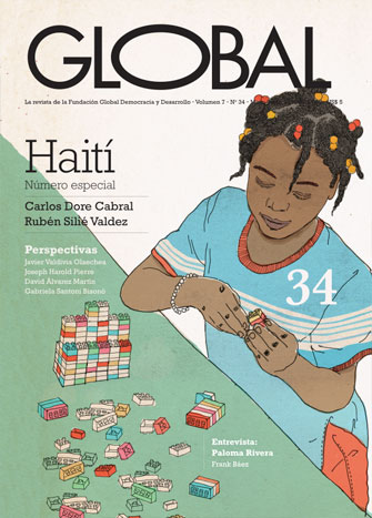 Portada de la revista Global No. 34