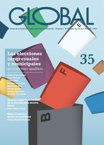 Portada de la revista Global No. 35