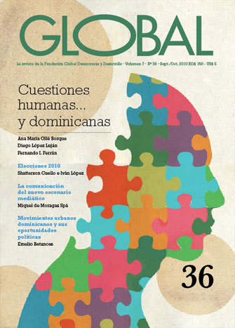 Portada de la revista Global No. 36