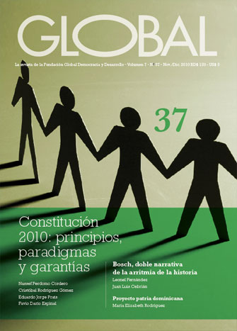 Portada de la revista Global No. 37