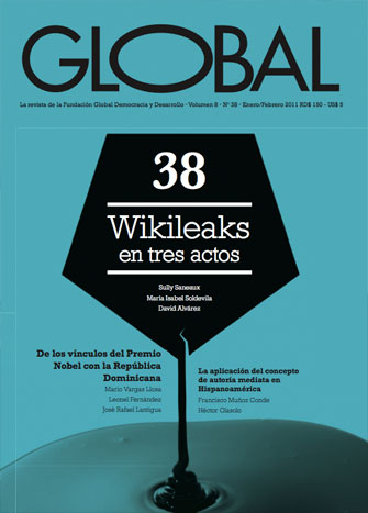 Portada de la revista Global No. 38