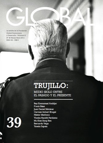 Portada de la revista Global No. 39