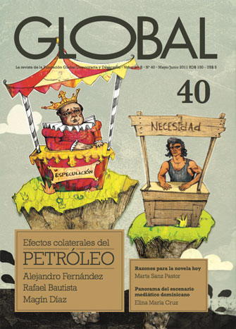 Portada de la revista Global No. 40