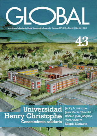 Portada de la revista Global No. 43