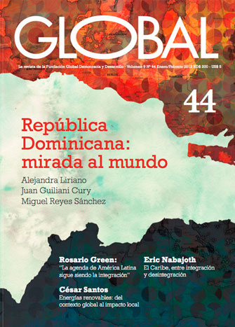 Portada de la revista Global No. 44