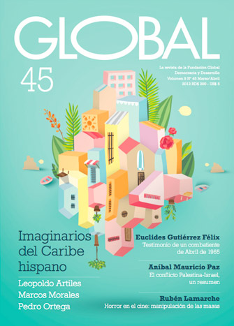 Portada de la revista Global no. 45