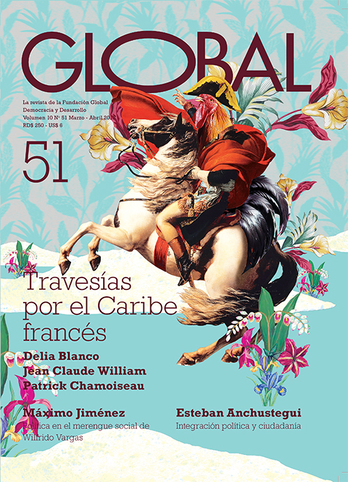 Portada de la revista Global No. 51