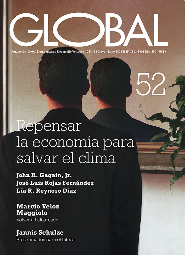 Portada de la revista Global No. 52