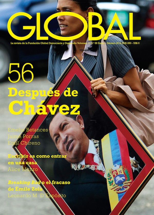 Portada de la revista Global No. 56