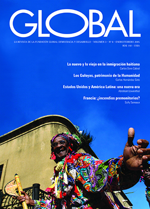 Portada de la revista Global No. 8